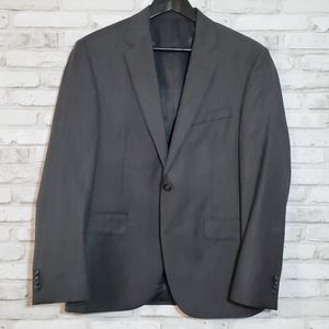 Kenneth Cole Charcoal Wool Sport Coat